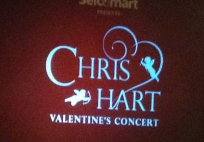 2014  クリス・ハート ヴァレンタイン コンサート 中島公園