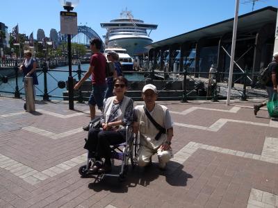 車椅子の妻とシリーズ第5弾 ニュージーランド~オーストラリア⑤シドニー
