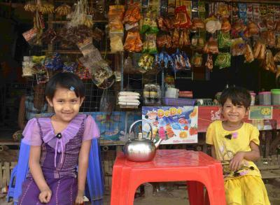 ミヤンマー・ヤンゴンで撮影した子供の写真