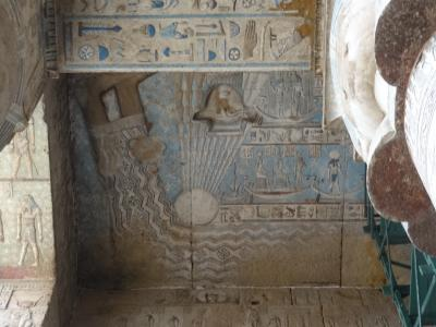 ナイル川流域(アビドス・デンデラ:エジプト) 2014.3.2