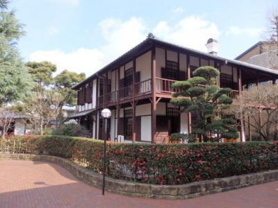 日本の旅 関西を歩く 京都市上京区の同志社社史資料センターの新島旧邸(にいじまきゅうてい)周辺