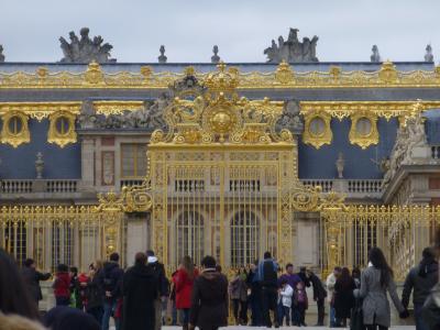 宮廷文化の舞台ベルサイユ宮殿・・(フランス3日目)