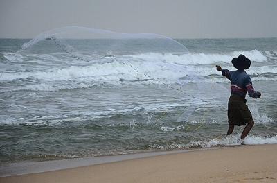 ★スリランカ車旅(9) −アルガム・ベイの朝