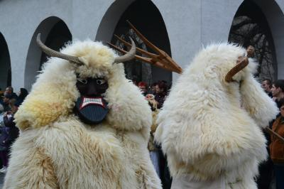 今年も冬を追い払うお祭りブショーヤーラーシュ@モハーチ その2