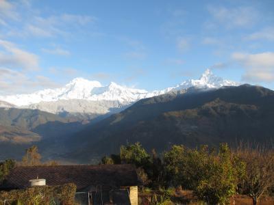 ヒマラヤ展望の宿で過ごす休日① ~ネパール5日間~
