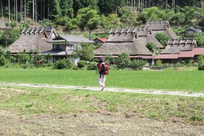 京都 美山かやぶきの里を訪ねて