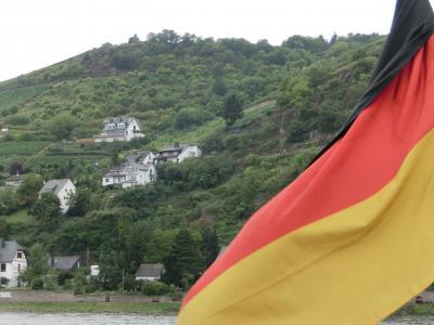 のんびり行こう~♪ドイツ・オーストリア12日間親子。vol.3 リューデスハイム~ライン川クルーズ♪
