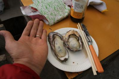 岡山県 日生へ牡蠣を食べに行ってきました