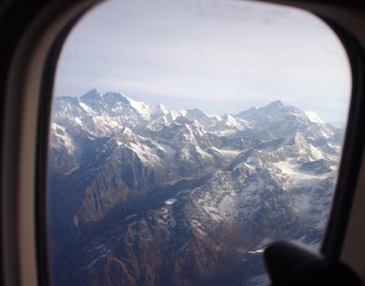 3月 ネパール観光 エヴェレスト遊覧飛行編