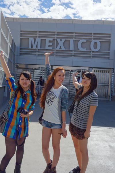 USA-LosAngeles/4泊6日/徒歩で国境を越えMEXCO入国/Tijuanaでランチ/みんなAmigo