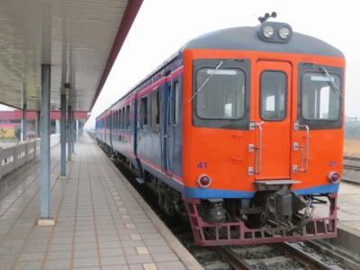ビエンチャンで列車に乗りたかった。