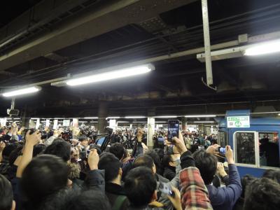 上野駅13番線、2014年3月14日21時16分 さらば!!あけぼの、ラストラン
