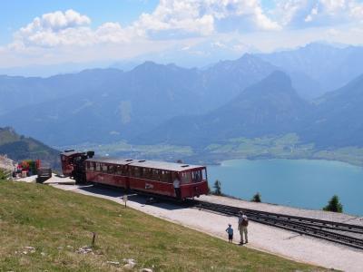 ヨーロッパの絶景を求めて一人旅☆オーストリア・ザルツブルク~ザンクト・ヴォルフガングからシャーフベルク登山鉄道に乗ってサウンド・オブ・ミュージックの世界へ~