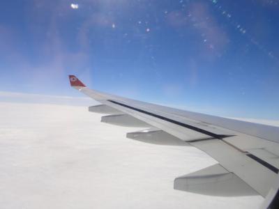 2014冬 トルコ航空イスタンブール ラウンジ