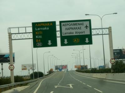 2013.12年末年始キプロス旅行20-PafosからLarnacaへ.OS832でウィーンへ