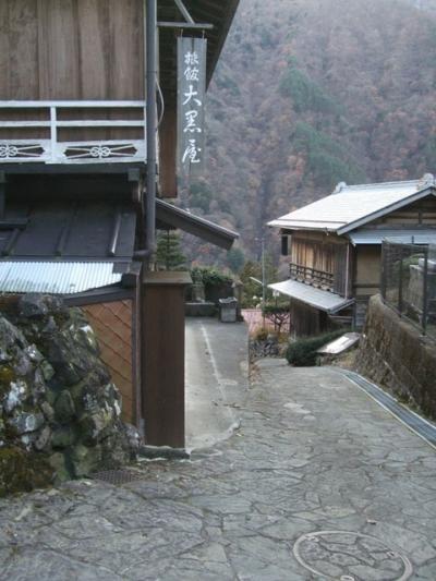 【赤沢宿】こういう宿場町、好きだなぁ。