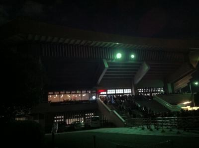 コンサートで武道館へ(2014年2月)