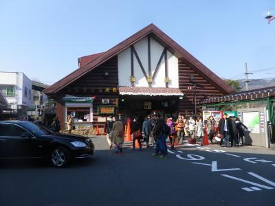 元箱根から鷹巣山へ登り、小涌谷まで歩き強羅へ