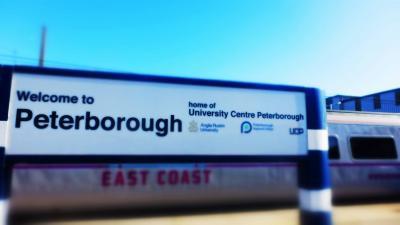 大聖堂にうっとり@Peterborough