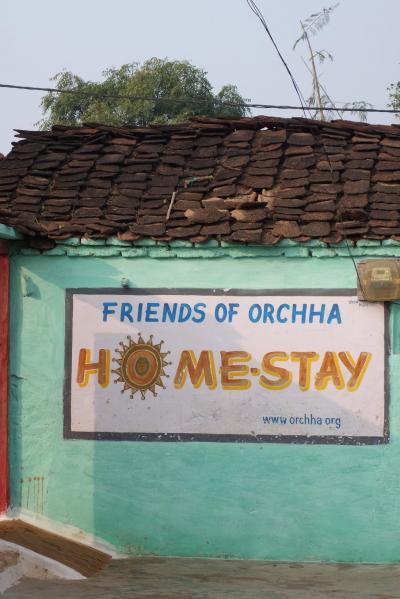 インド中部 オルチャ Friends of Orchhaのホームステイ