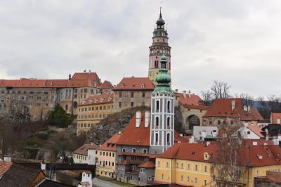中欧ヨーロッパ9日間の旅♪ ~vol 14.5日目 世界遺産のチェスキー・クルムロフ到着♪ホテル「ルーゼ」へ~
