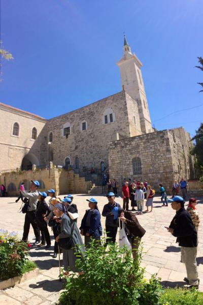 パレスチナ暫定自治区に 2014年3月