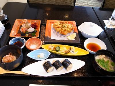 JRタワーホテル日航札幌35階 丹頂 昼食へ