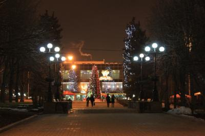 Donetsk 旅行記 1月3日 その2
