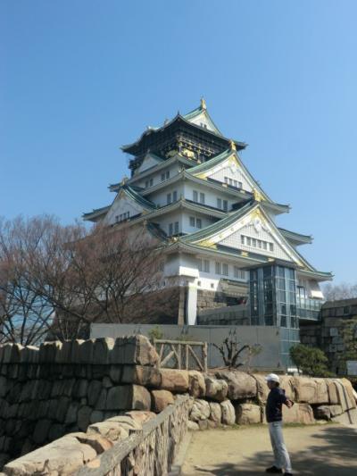 大阪市中央区 外国人で賑わう大阪城見物☆