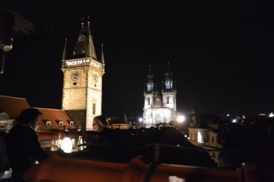 中欧ヨーロッパ9日間の旅♪ ~vol 24.7日目 HOTEL U PRINCEにて絶景ディナー~