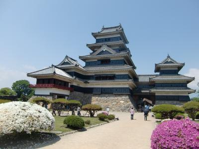 2012年 初めての国宝松本城を満喫する旅
