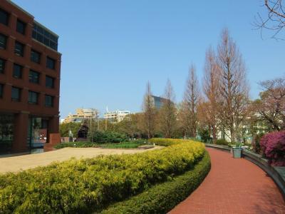 春の恵比寿ガーデンプレイスへ