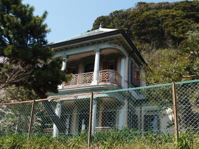 鎌倉市長谷子ども会館(旧諸戸邸)のタンポポ