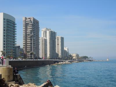 春のレバノン観光*ベイルート
