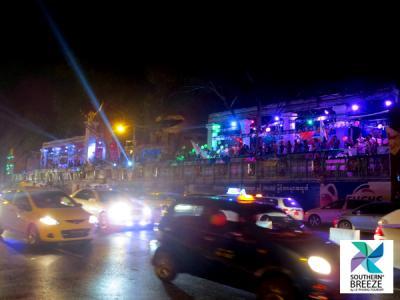 街がダンスフロア!ミャンマー正月(水掛け祭)・前日