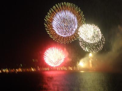 飛鳥Ⅱで行く鳥羽・熊野大花火②