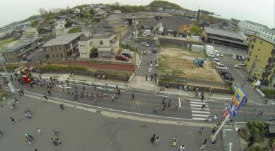 空撮 常滑春祭り 2014年 4/5 日曜午後編