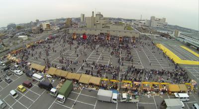 空撮 常滑春祭り 2014年 5/5 日曜夜編 最終章