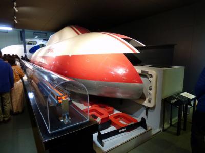 03.卒業旅行は大阪へ4泊 交通科学博物館その1 屋内の鉄道展示