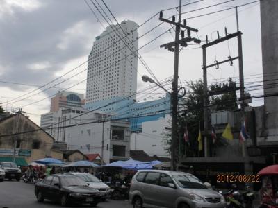 上海ー新加坡ー吉隆坡ー曼谷4都旅行記(75)ハジャイの街歩き。