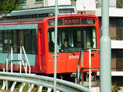 箱根に着けば まずは湯本から登山鉄道の旅が始まります。