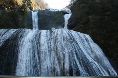 豪快な袋田の滝