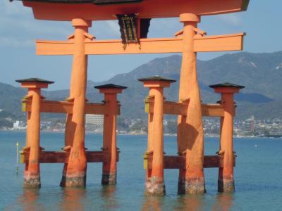 世界遺産の宮島