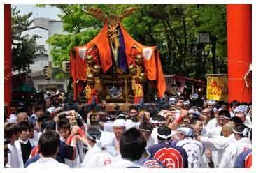 御旅所 稲荷祭2014