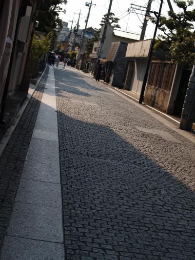 足利の石敷道路