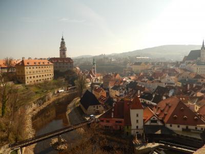オーストリア・チェコの旅 ④ ☆ チェスキー・クルムロフ