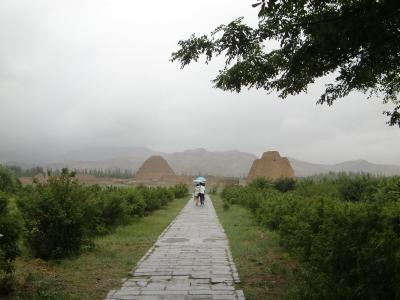 中国、河西回廊の旅その9-西夏王陵を見てから西安へ