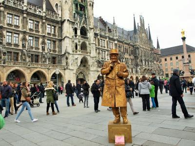 新緑の南ドイツ鉄道旅行 古城と中世の街並み vol.8 ミュンヘンで完:DBと私にとってのドイツ