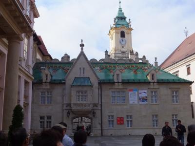 初めての欧州、中欧4ヵ国の旅(スロバキア:プラチスラバ)