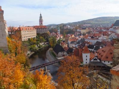 初めての欧州、中欧4ヵ国の旅(チェコ:チェスキー・クルムロフ)